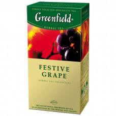 Чай Greenfield - Festive Grape 25*1,5 г