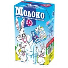 Заречье молоко ультрапастеризованное 3.5% 1 л
