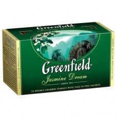 Чай Greenfield - Jasmine Dream green 25пак.