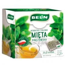 Купить Чай травяной Belin Мята 20пак в магазине Фаст Офис Сервис. Большой ассортимент, бесплатная доставка, низкие цены.