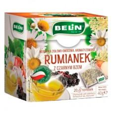 Чай фруктово-травяной Belin с ромашкой и бузиной 20пак