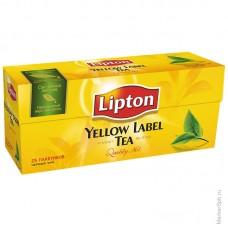 Lipton Yellow Label Черный чай пак. 25x2 г
