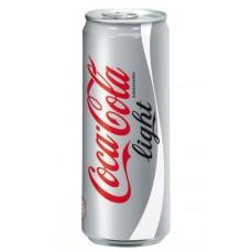 Coca-Cola light напиток банка 0,33 л